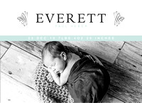 Everett newborn session